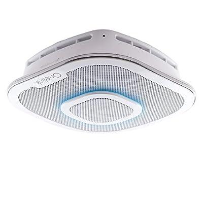 First Alert Onelink Safe & Sound - Smart Hardwired Smoke + Carbon Monoxide Alarm and Premium Home Speaker with Amazon Alexa + Echo Dot (2nd Generation)