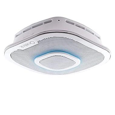 First Alert Onelink Safe & Sound - Smart Hardwired Smoke + Carbon Monoxide Alarm and Premium Home Speaker with Amazon Alexa