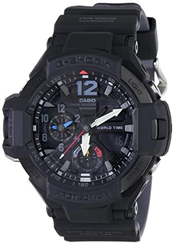Casio G-Shock Analog-Digital Black Dial Men's Watch - GA-1100-1A1DR (G815)