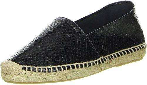 maypol Damen Espadrilles schwarz, Größe:41;Farbe:Schwarz
