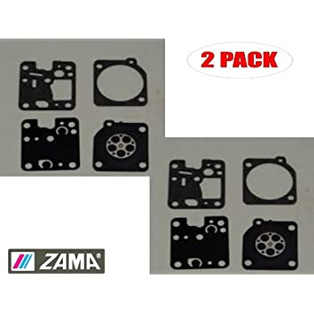 Zama 2 Pack Gasket /& Diaphragm Kits # GND-12-2PK