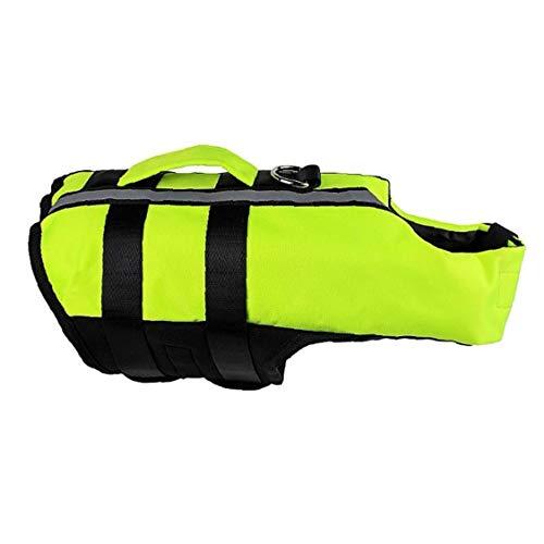 Salvavidas Chaleco Perro songway traje de baño de protección bandas reflectantes ajustable L