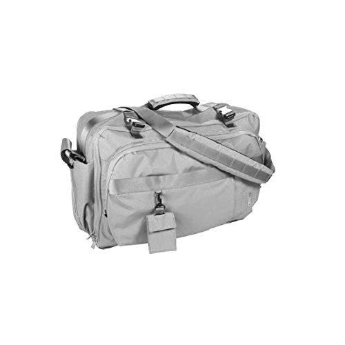 Mandarina Duck Unisex Tasche 8AB03 Travel Bag Reisetasche Weekender Handgepäck Schultertasche Handtasche 54x36x19 cm (BxHxT) (Titanium)