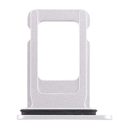 SIM Karten Adapter Apple iPhone XR Tray Slot Halter Ersatz Nano SIM-Karten Holder für iPhone XR in Silber