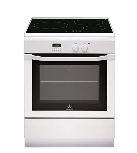 Photo de cuisiniere-induction-indesit-ic6316c6awfr-blanc-classe-energetique-a