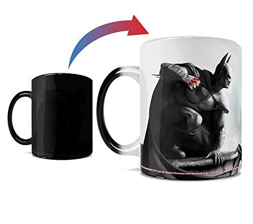 DC Comics - Batman - Gotham City - Arkham Origins - One 11 oz Morphing Mugs Color Changing Heat...