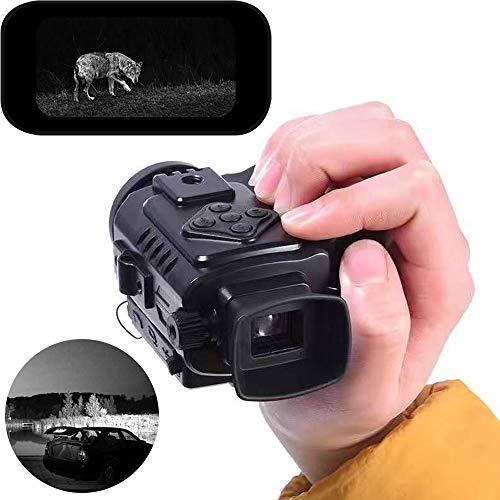 RJJBYY HD Digital Nachtsichtfernrohr, Nachtsichtfernrohr HD Nachtfernglas Jagdkamera, Infrarot Digital LCD Monokular Range Nachtsicht Video Fotorecorder