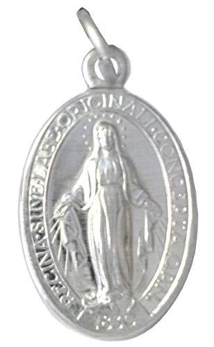 """LOTE"""" LA MEDALLA MILAGROSA"""" - La ORIGINAL - 100% MADE IN ITALY - LAS MEDALLAS DE LOS SANTOS PATRONES (Lote de 10 Medallas)"""
