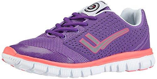 Killtec Damen Fresley Lady Sneaker, Violett (dunkelorchidee / 00485), 38 EU