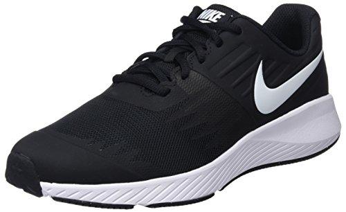 Nike Star Runner (GS), Chaussures de Running garçon, Multicolore (Black/White-Volt 001), 36.5 EU