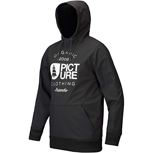 Picture Parker snowboard hoodie black
