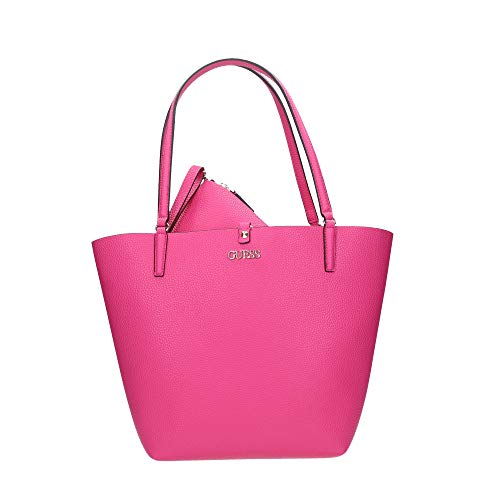 Guess Alby Toggle Tote Hibiscus/Coral