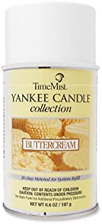 TimeMist Yankee Candle Air Freshener Refill, Buttercream, 6.6 Ounce Aerosol Can (81-2200TMCA)