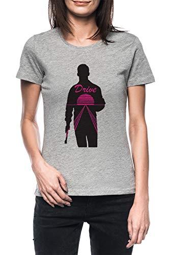 EIN Echt Held Damen Grau T-Shirt Kurzarm Women's Grey T-Shirt