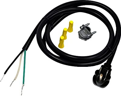 Whirlpool W10278923RP Dishwasher Power Supply Kit, Black