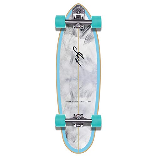 "YOW JBay 33"" Dream Waves Series Surfskate Skateboard, Adultos Unisex, Multicolor (Multicolor)"