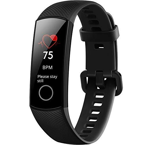 Honor Band 5 Reloj Deportivo Inteligente/Pulsera con Monitor de Ritmo cardíaco en Tiempo Real, Pantalla AMOLED de 0,95 Pulgadas, Resistente al Agua 5 ATM, monitoreo del sueño