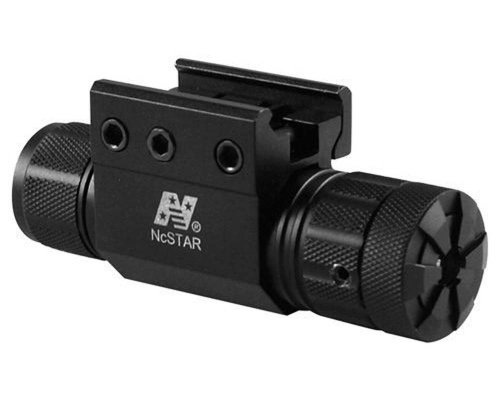 NcStar Pistol and Rifle Green Laser with Weaver Mount Pressure Switch APRLSMGBlack