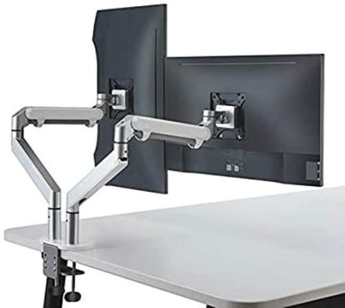 Sillas de mesa de escritorio del monitor del brazo Bronby, ajuste completo de aluminio que monitorea la instalación de TV de monitoreo