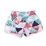 TENDYCOCO Pantalones Cortos de Nadar para Mujer Bañadores de Playa Flamingo Entrenamiento de Secado rápido Gimnasio Pantalones Deportivos