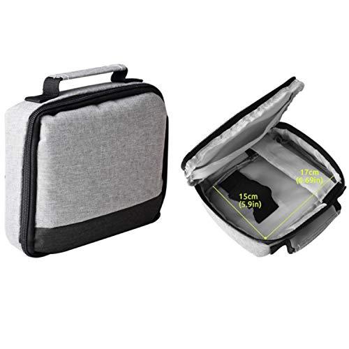 Maletin para Mini proyector de LED, Bolsa de Transporte, Incluye Cierre de Seguridad, Compatible con los videoproyectores tamaño portatil DLP ó LCD