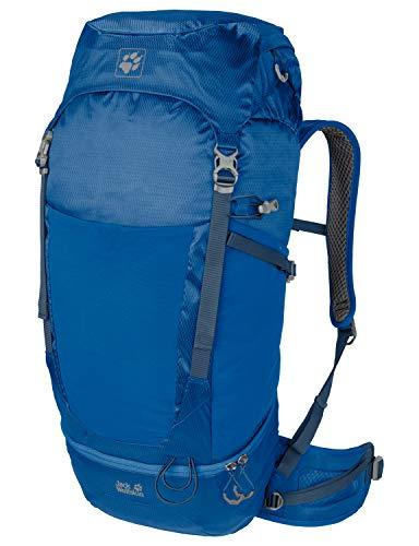 Jack Wolfskin Kalari Trail 42 Pack sac à Dos Trekking, Zaino Unisex-Adulto, Blu (Electric Blue), One Size