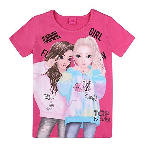 Top Model Mädchen T-Shirt, pink, Größe 152, 12 Jahre