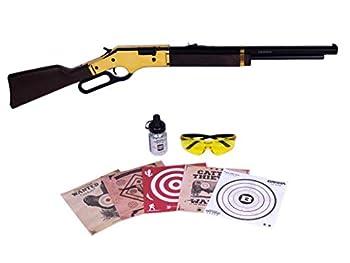 Barra Airguns 1866 Air Rifle Junior Bundle Kit .177 Cal Pellet and BB Gun for Kids and Youth