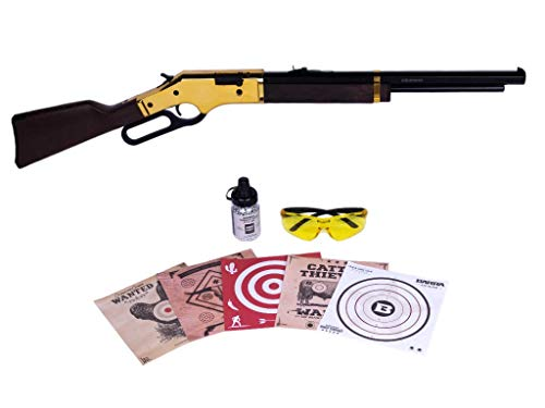 Barra Airguns 1866 Air Rifle Junior Bundle Kit .177 Cal Pellet and BB Gun for Kids and Youth