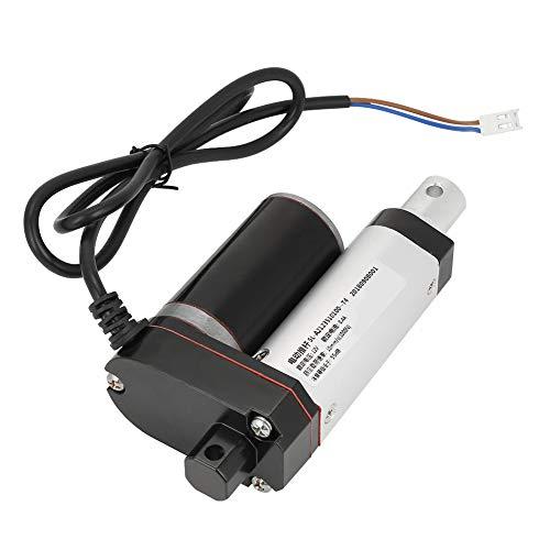 Kit de empuje de actuador lineal de CC de 12 V, carrera de 35 mm, servicio pesado 1000N Motor de elevación eléctrico con actuador lineal de parada automática