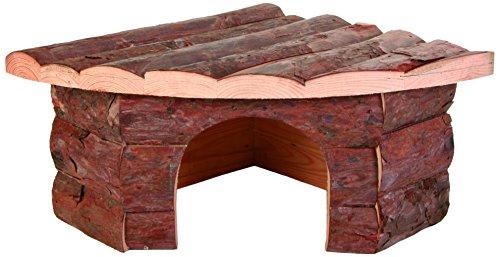 TRIXIE Casita Jesper, Natural Living, 32 × 13 × 21/21 cm, Pequeños Mamíferos