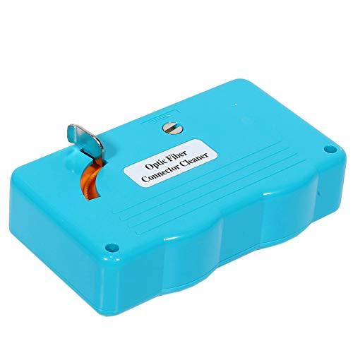 Cobeky Limpiador de fibra óptica Casete de limpieza de fibra óptica, 500 veces limpiador de casetes limpieza de fibra óptica