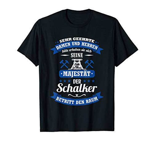 Schalke Spruch für Schalker: Seine Majestät Trikot T-Shirt