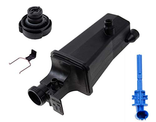 Expansion Tank + Cap+ Coolant Level Sensor For BMW E46 E53 E83 323i 328i 325i 330i X3 X5 2.5L 2.8L 3.0L
