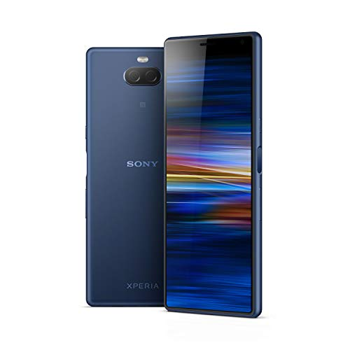 Sony Xperia 10 6 Inch 21:9 Full HD+ display Android 9 UK SIM-Free Smartphone with 3GB RAM and 64GB Storage -Navy