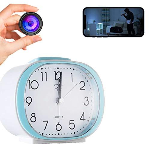 GEQWE Cámara Espía Wi-Fi, Reloj Inalámbrico con Cámara Oculta, Cámara De Seguridad HD 1080P, Vigilancia por Detección De Movimiento, para La Seguridad De La Oficina En El Hogar