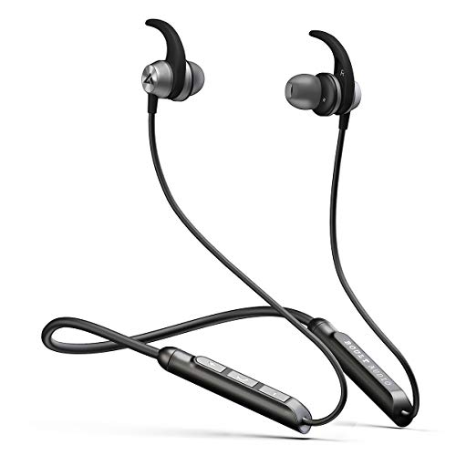 Boult Audio ProBass SpireX Neckband in-Ear Wireless Bluetooth Earphones with Mic IPX5 Sweatproof Deep Bass Headphones with Long Battery Life...