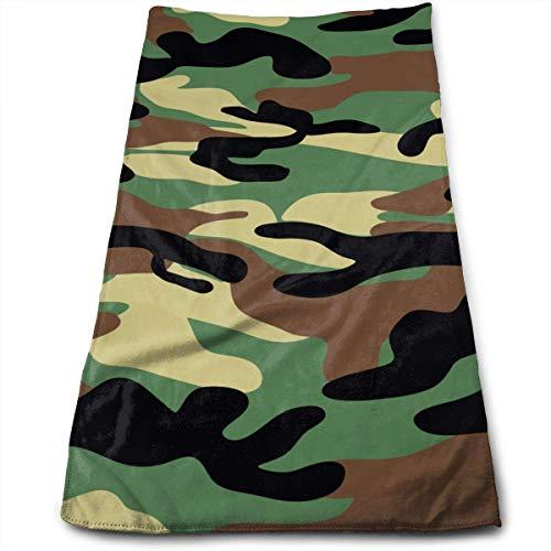 Dark Brown Camouflage.PNG Toallas de baño para baño-Hotel-SPA-Juego de Cocina - Circlet Egipcio - Toallas de Calidad de Hotel Altamente absorbentes 30x70 cm