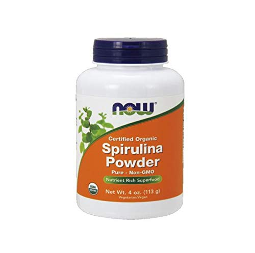 NOW Foods - Organic Spirulina Powder - 4 oz.