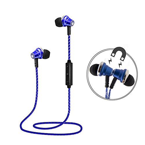 Lauson Auriculares Deportivos Bluetooth Inalámbricos Universales, Cascos Magnéticos, Manos Libres Estéreo con...