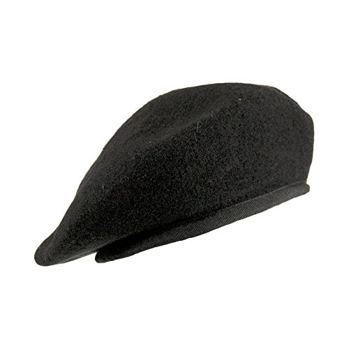 Village Hats Béret Militaire Noir - 57