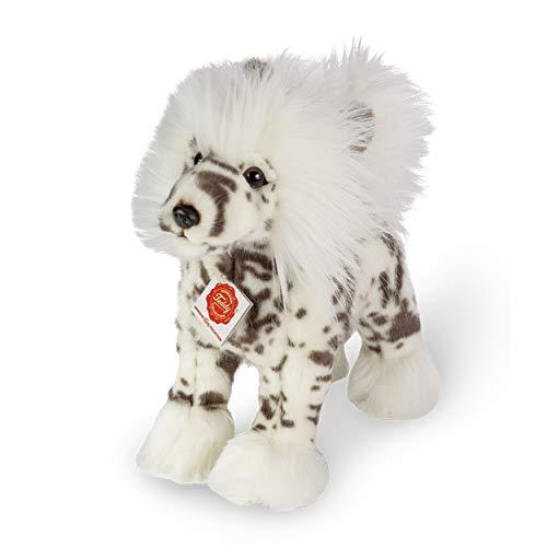 Teddy Hermann 91949 Schopf-Hund stehend 25 cm, Kuscheltier, Plüschtier
