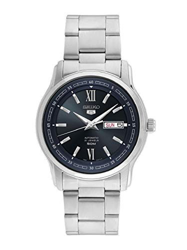 Seiko Analog Blue Dial Men's Watch - SNKP17K1