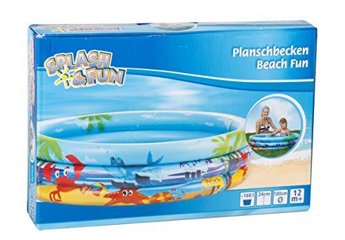 VEDES Großhandel GmbH - Ware 77703489 Splash & Fun Planschbecken Beach Fun 100cm