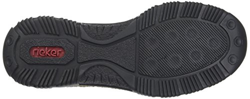 Rieker Damen Sneaker, (schwarz/fumo) - 4