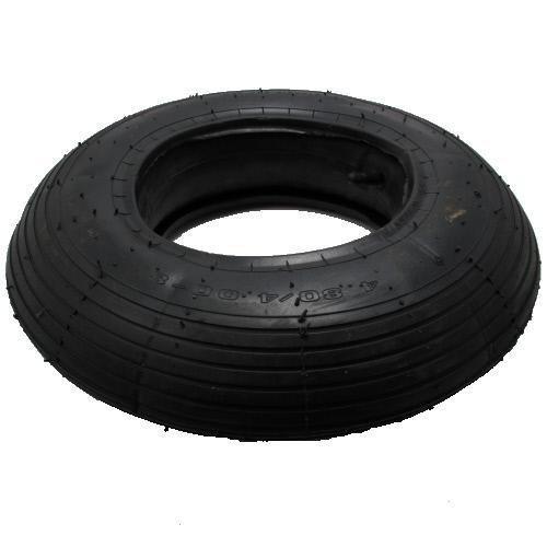 Reifen- und Schlauch-Set für Karre/Schubkarre TR13 4.80/4.00-8 (400x100)