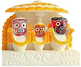 Idols and Figurines of Lord Jagannath balaram and subhadra by for Car Dashboard   Idols for Gift   Home décor Idols and fo...