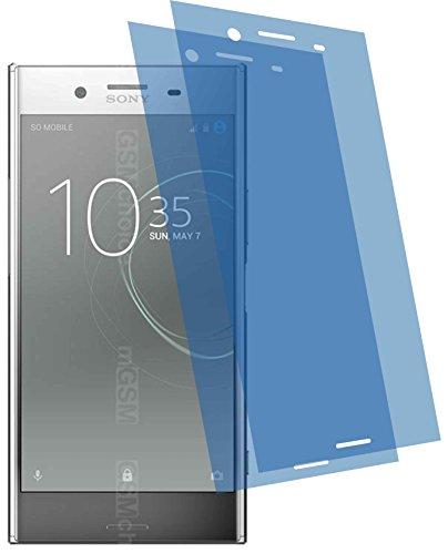 4ProTec I 2X ANTIREFLEX matt Schutzfolie für Sony Xperia XZ Premium Displayschutzfolie Bildschirmschutzfolie Schutzhülle Displayschutz Displayfolie Folie