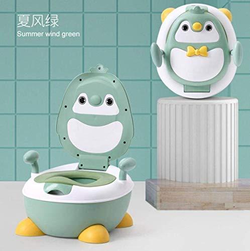 ZYOUXIU - Vasino portatile per bambini, antiscivolo, con paraschizzi, facile da svuotare e pulire