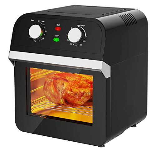 ARLIME Air Fryer, 12.7QT Convection Toaster Oven, 1600W, Convection Roaster with 10 Accessories…